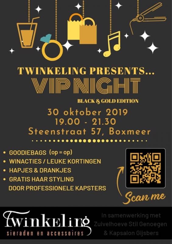 VIP Night 'Black & Gold' Edition