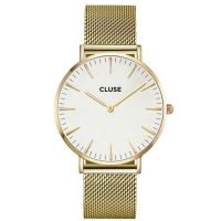 CLUSE | Boho Chic mesh gold - white 1