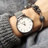 CLUSE | Minuit mesh silver - white 2