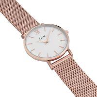 CLUSE | Minuit mesh rose - white 3