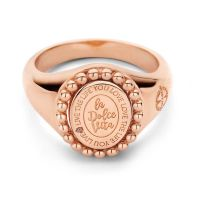 MI MONEDA | Soho ring rosé 1