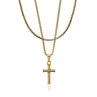 CROYEZ JEWELRY | Cross gold 1