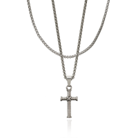 CROYEZ JEWELRY | Cross zilver 1