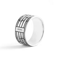 PRINS AMSTERDAM | Zilveren band ring 1