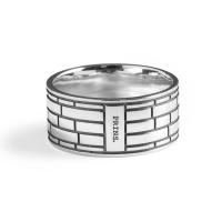 PRINS AMSTERDAM | Zilveren band ring 2