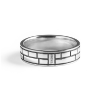 PRINS AMSTERDAM | Zilveren band ring #2 2