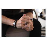 PRINS AMSTERDAM | Mini zegelring zilver met agaat 3