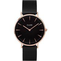 CLUSE | La Boheme mesh black rose gold black 1