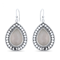 CLOSE TO ZEN | Oorbellen - Feels like summer grey moonstone 1