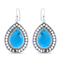 CLOSE TO ZEN | Oorbellen - Feels like summer turquoise 1