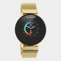 OOZOO | Smartwatch unisex goud/goud mesh 1