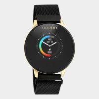 OOZOO | Smartwatch unisex goud/zwart mesh 1