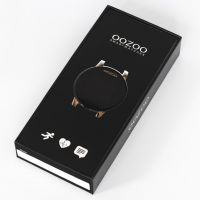 OOZOO | Smartwatch unisex goud/zwart mesh 4
