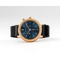 OOZOO | Smartwatch unisex zwart/rosé-goud 2