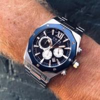 VNDX | Wise Man Staal Zilver Blauw 2