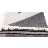 BUFANDY   Sjaal Ombre - Grey Marble 5