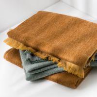 BUFANDY | Sjaal Solid - Ocher Brown 1
