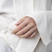 A BREND | Ring Ternaah zilver laatste maat 17 2