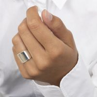 A BREND | Ring Teryl zilver laatste maat 16 2