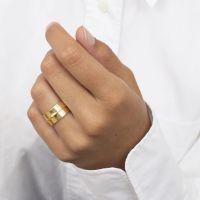 A BREND | Ring Ikka goud 2
