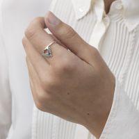 A BREND | Ring Saarhi zilver 2