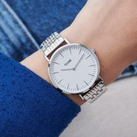 CLUSE | Boho Chic Schakelband - Zilver 2