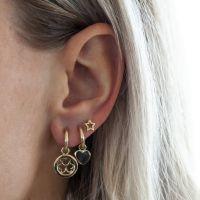 JWLS4U | Earrings Heart Gold 2