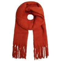SELECTED | Sjaal franje oranje 1