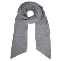 SELECTED | Sjaal franje grijs 1