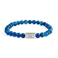 PRINS | Adam blauw agaat 6mm 1