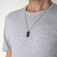 PRINS | Caz hanger blauw agaat 3