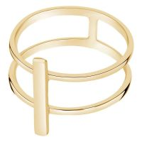 A BREND | Moona 18K Gold Plated Ring 1