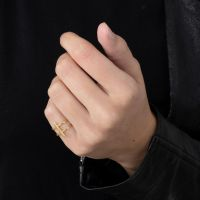A BREND | Moona 18K Gold Plated Ring 2