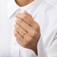 A BREND | Fabiane 18K Gold plated Ring 2