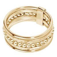 A BREND | Iaro 18K Gold plated Ring 1