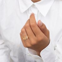 A BREND | Iaro 18K Gold plated Ring 2