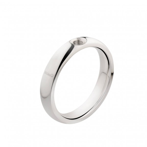 MelanO Twisted ring zilver