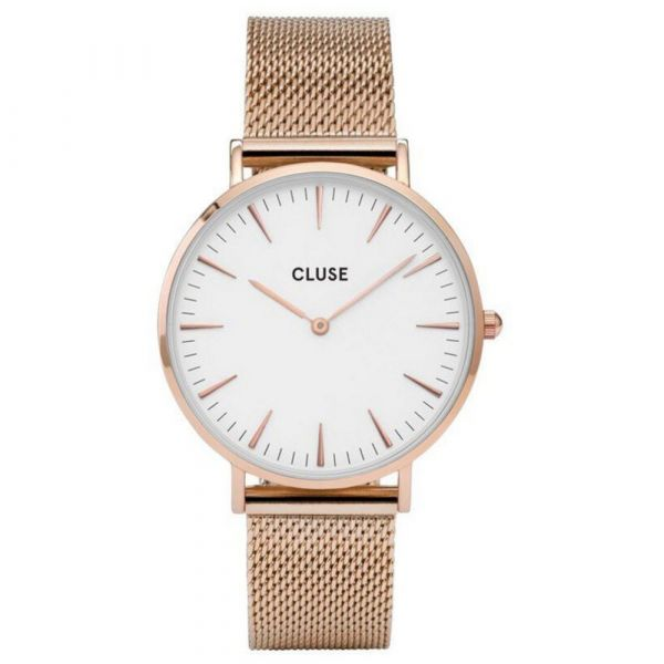 CLUSE | La Boheme mesh rose - white