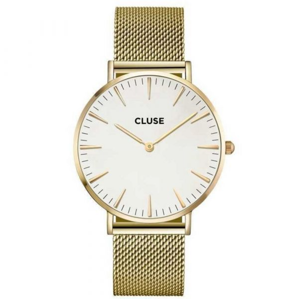 CLUSE | Boho Chic mesh gold - white