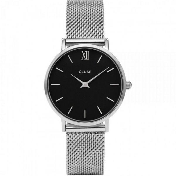 CLUSE | Minuit mesh silver - black