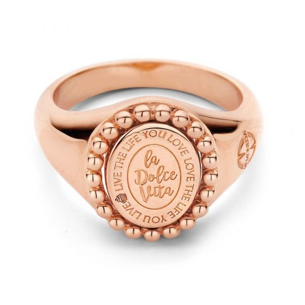 MI MONEDA | Soho ring rosé