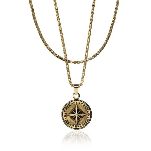 CROYEZ JEWELERY | Compass gold