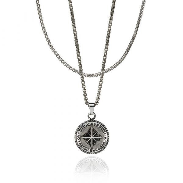 CROYEZ JEWELERY | Compass zilver