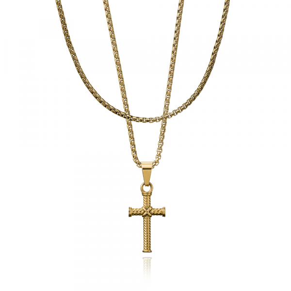 CROYEZ JEWELERY | Cross gold