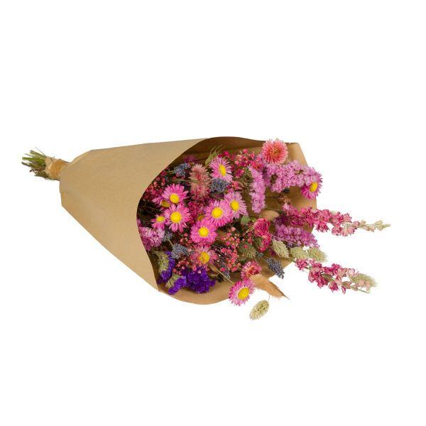 WILD FLOWERS | Droogbloemen boeket L Pink