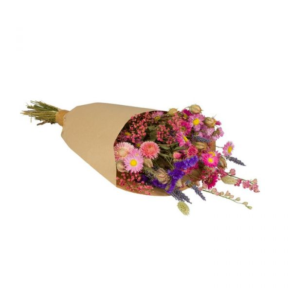 WILD FLOWERS | Droogbloemen boeket M Pink