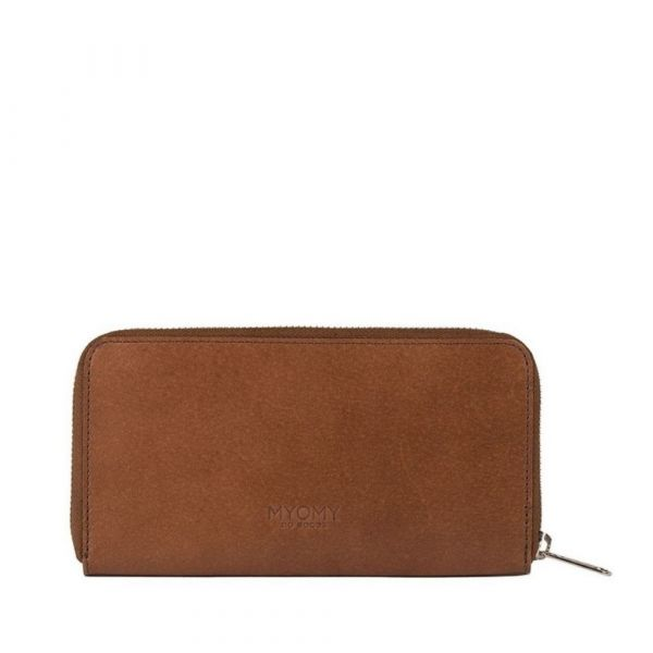 MYOMY | Wallet - Hunter Waxy Cognac