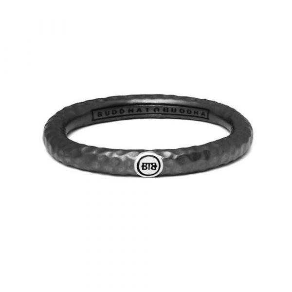 BUDDHA TO BUDDHA | Dunia ring hammered black