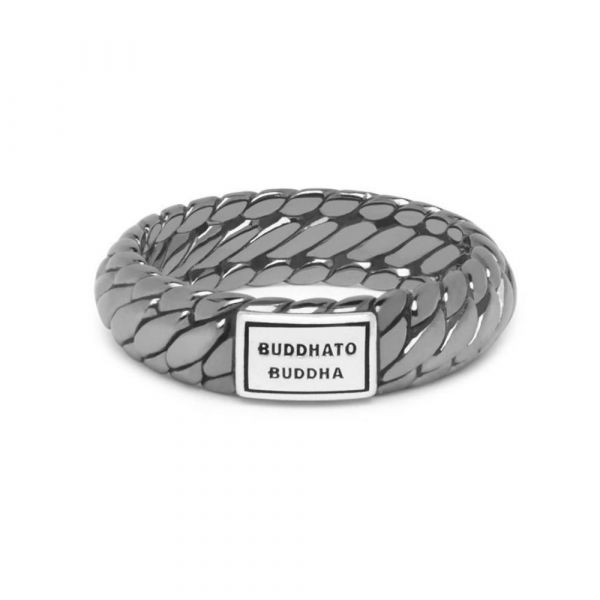 BUDDHA TO BUDDHA   Ben xs ring black rhodium shine