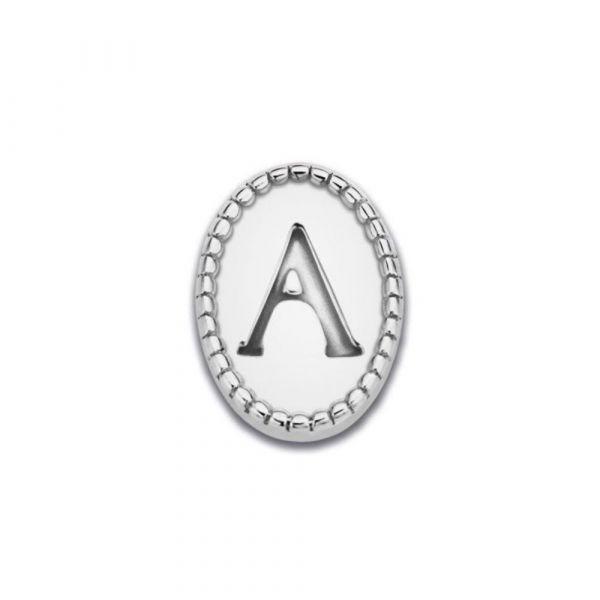MI MONEDA | Icons Letter A/K/L/S - silver